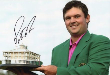 Patrick Reed, Masters 2018 Augusta, signed 12x8 inch photo.